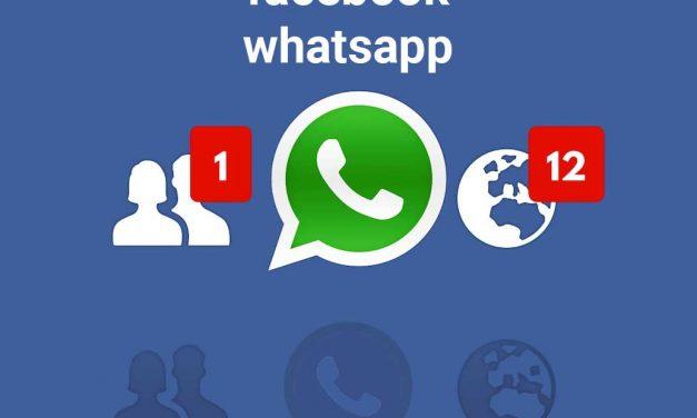 Whatsapp y Facebook sancionados por ceder datos personales sin consentimiento