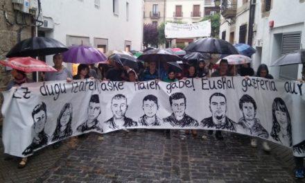 Condenados a prisión entre 2 y 13 años los jóvenes de Altsasu
