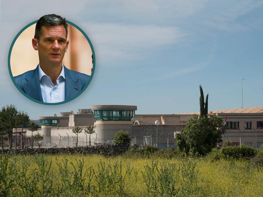 """El personal penitenciario denuncia un """"evidente trato de favor"""" hacia Urdangarín"""