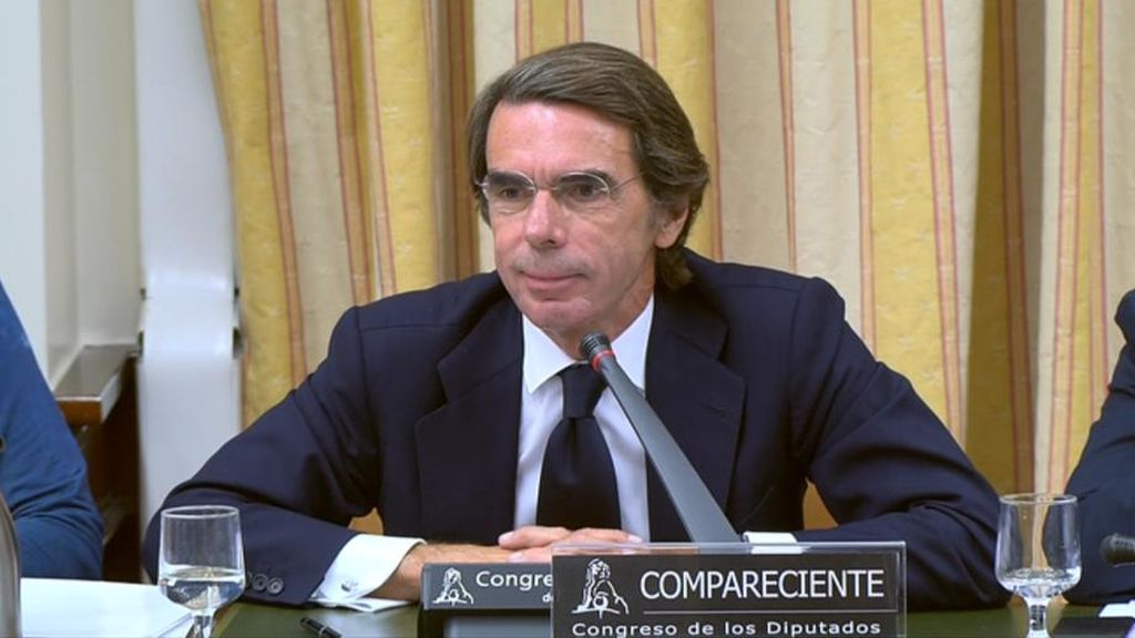 Aznar niega la «caja b» del PP, a pesar de la sentencia del Caso Gürtel