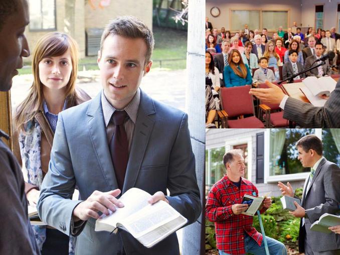 Los testigos de Jehová se rigen por la normativa de protección de datos en sus predicaciones puerta a puerta