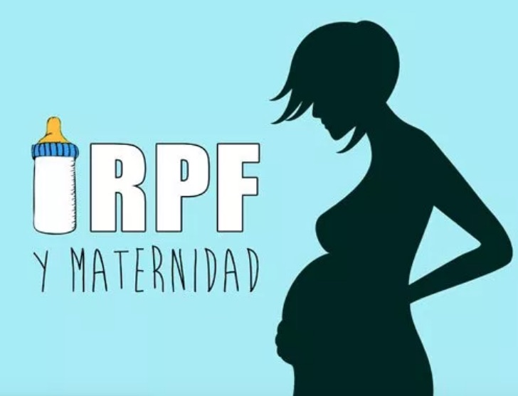 Las prestaciones por maternidad están exentas de IRPF