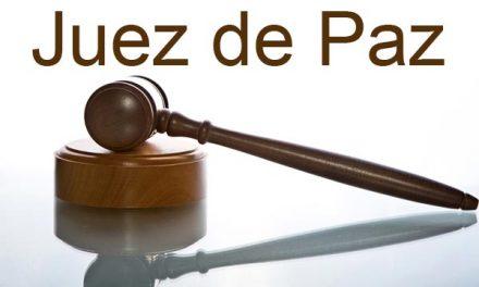 Los jueces de paz deben estar dados de alta en la Seguridad Social