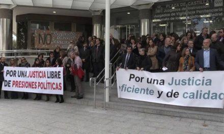 Huelga en los juzgados por una independencia judicial
