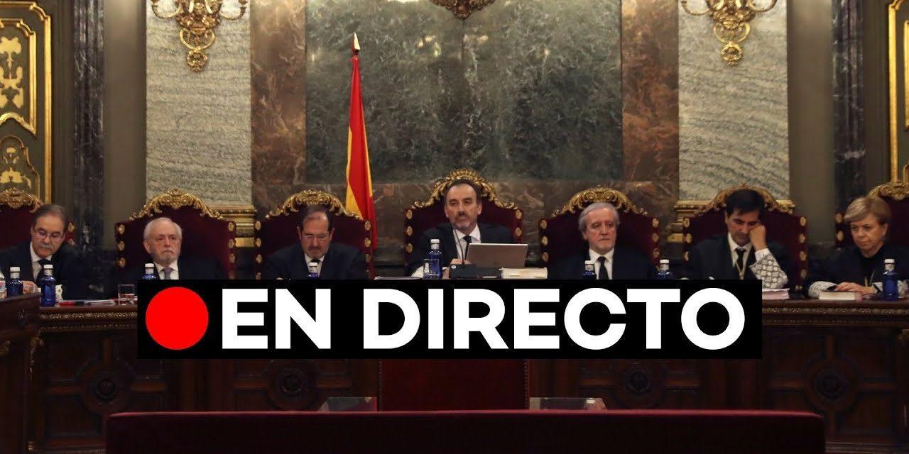 El juicio del caso del 'Procés', televisado en directo y mediante streaming en la web