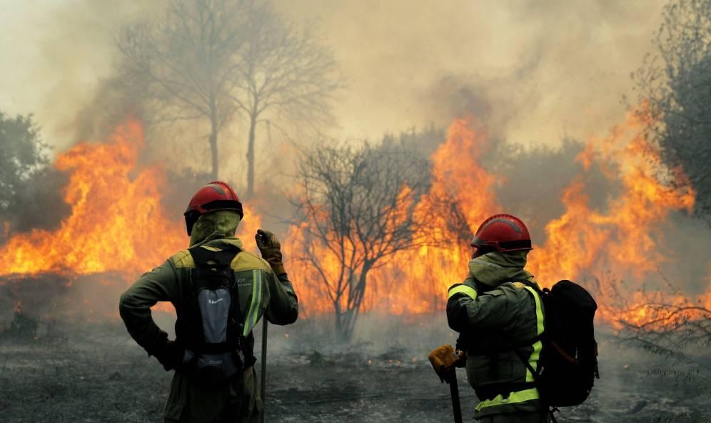 Consecuencias dos incendios forestais en Galicia