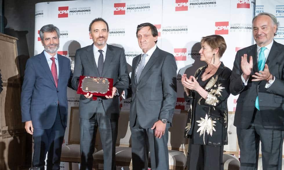 Concedida la Balanza de Oro a Manuel Marchena, magistrado del juicio del «procès».