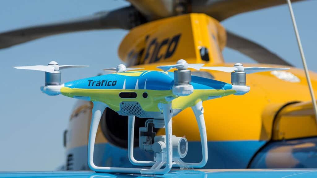 La DGT empezará a multar por infracciones captadas con drones