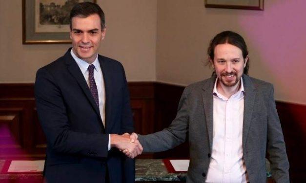 Reformas previsibles de PSOE y Unidas Podemos para el nuevo gobierno