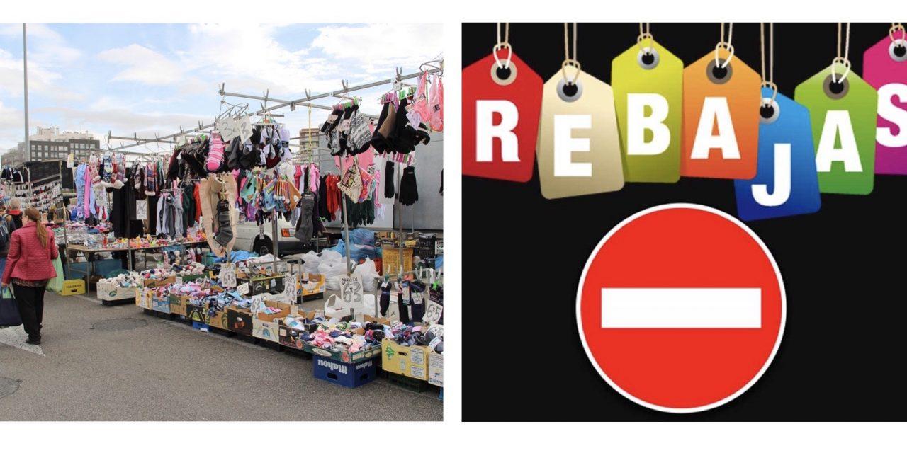 Reapertura del pequeño comercio ¿se prohiben las rebajas? ¿se permiten los mercadillos?
