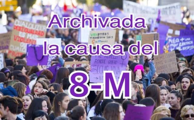 Archivada la causa del 8-M contra el delegado del Gobierno en Madrid