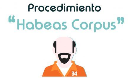 """El procedimiento de """"Habeas Corpus"""""""