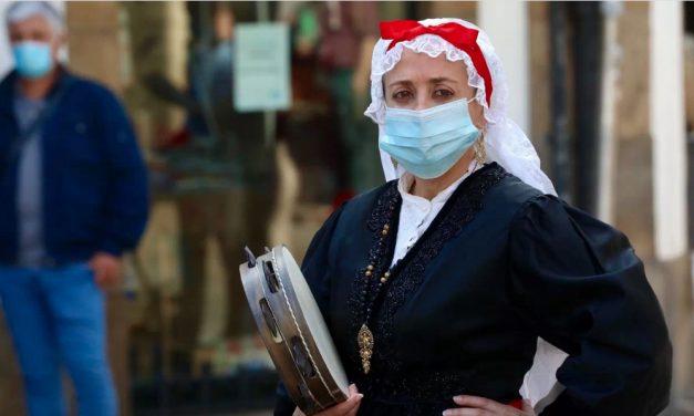 O TSXG denega a suspensión cautelar da obriga de utilizar máscara aprobada pola Xunta