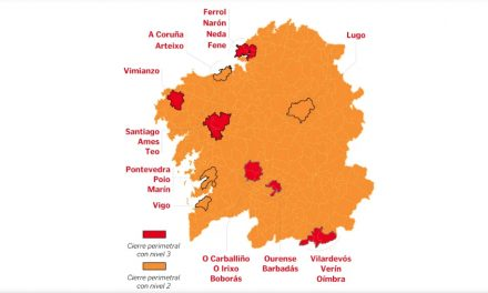 Limitación da mobilidade pola Xunta en determinados concellos galegos