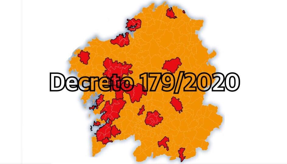 Limitacións na mobilidade entre concellos e nas reunións de persoas en Galicia