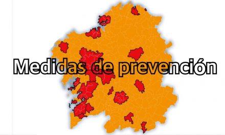 Qué medidas de prevención impón a Xunta de Galicia ante a segunda ola da COVID-19?