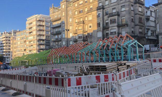 O TSXG avala a instalación das escaleiras mecánicas na Gran Vía de Vigo sen o permiso de Patrimonio