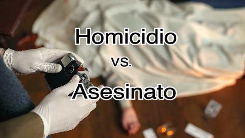 ¿Cuál es la diferencia entre homicidio y asesinato? ¿Qué pena de prisión suponen?