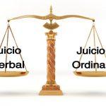 ¿Cuándo acudimos a un juicio verbal y cuándo a uno ordinario?